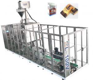 Автоматична лінія типу цегла вакуумна пакувальна машина