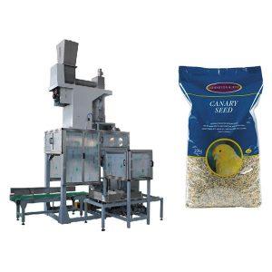 20 кг наповнювальні ваги для насіння і розвантаження насіння відкритого рота Автоматична упаковувальна машина з великими мішками для зерна