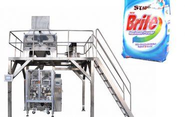 4 головки лінійного ваги миючого засобу для миття порошку упаковки