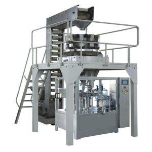 Автоматична премідна гранула для зважування наповнення та герметизація виробничої лінії