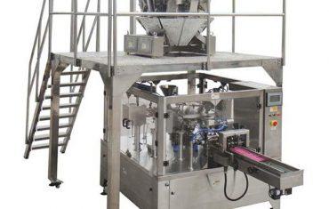 автоматична ротаційна машина упаковки машина мішок молнії