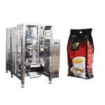 кавовий квадратний мішок форму заповнити запакову упаковку машини