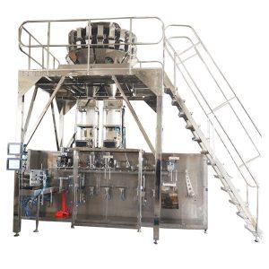 Горизонтальна дозаправна пакувальна машина з багатошпинкою для гранул