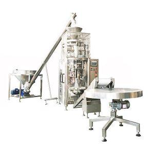 Машина для запечатування вертикальної форми з об'ємною чашкою для гранул