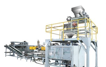 ZL25F model automatic powder woven bag bagging machine